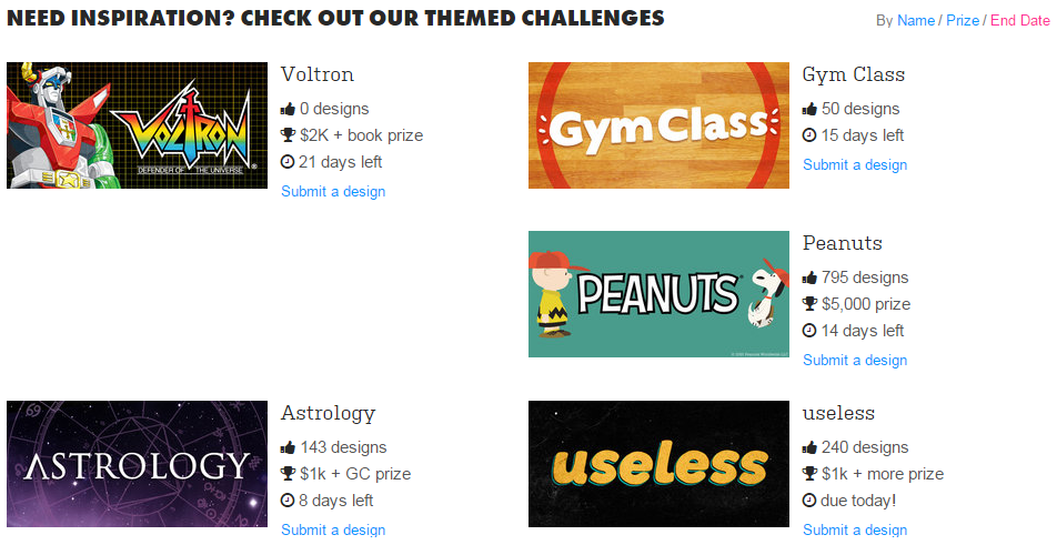 Threadless Themes